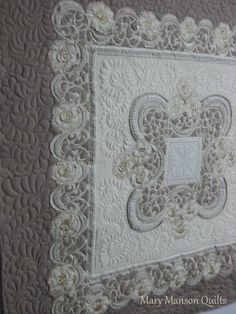 A blog about quilts made from wedding dressses