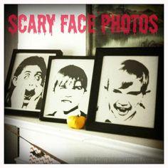 DIY Halloween : DIY Scary Halloween Photos