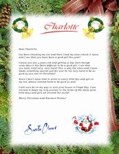 Nice List Santa Lettercertificate Personalized By Merrymailbox