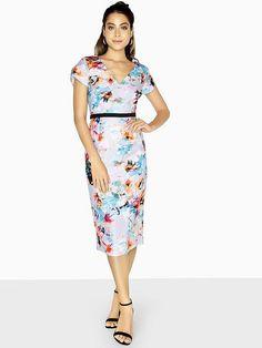 Little Mistress Bodycon Midi Dress - Printed High Leg Boots, Long Toes, Wedding Outfits, Dress Outfits, Dresses, Mistress, Midi Skirt, Two Piece Skirt Set, Bodycon Dress