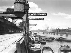 50er Schuppen: damals - Stiftung Hamburg Maritim