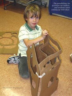 The Value of Play | This play involves discovery, resourcefulness, problem-solving, skill building, autonomy, teamwork, self-reliance, and risk-taking. #ArtEd #ArtEducation
