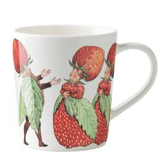 Elsa Beskow mug, The Strawberry family, by Design House Stockholm.