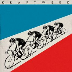 Awesome animated gif of seminal Kraftwerk lp 'Tour de France' #techno