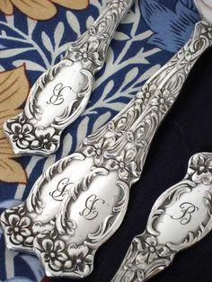monogrammed silverware