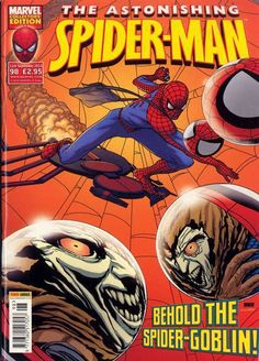 The Astonishing Spider-Man #98 - Behold The Spider-Goblin