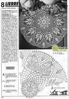 Free Crochet Doily Patterns, Crochet Doily Diagram, Crochet Motifs, Crochet Buttons, Thread Crochet, Crochet Stitches, Lace Doilies, Crochet Doilies, Crochet Lace