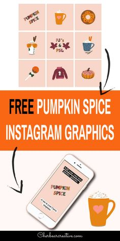 Free Pumpkin Spice Instagram Graphics - Social Media Posts and Stories Instagram Grid, Free Instagram, Instagram Tips, Social Media Quotes, Social Media Graphics, Instagram Story Template, Instagram Story Ideas, Instagram Marketing Tips, Graphic Design Tips