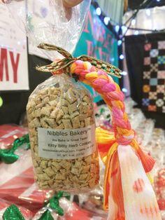 Kitty Bitty Herb Cookies, made by Jill Krol, Nibbles Bakery Dog Treats Holiday Market, Dog Treats, Gift Guide, Bakery, Herbs, Kitty, Lovers, Cookies, Table Decorations