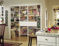 Pantry...i wish i had that mush room...or actual food