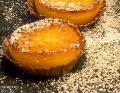 Queijadas de Tangerina e Ricota - Sobremesas de Portugal