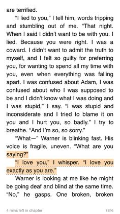 WARNER AND JULIETTE SHATTER ME