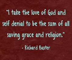 The love of God and self denial. Best Christian Quotes, Saved By Grace, Denial, Gods Love, Me Quotes, Religion, Encouragement, Self, Love Of God