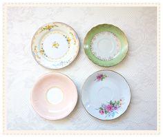 DIY Vintage Plates Decor