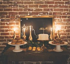 Industrial doesn't have to mean cold and uninspired...fairy lights and candles go a long way towards adding warmth and atmosphere.