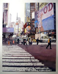 Times Square by Don Gore (dgdraws), via Flickr