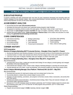 Marketing Director Resume | Director of Advertising and Marketing ...