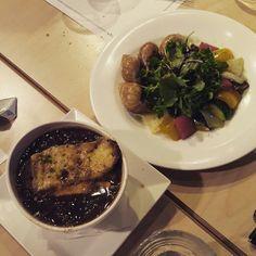 달팽이 요리와 오니언 스프~~^^
