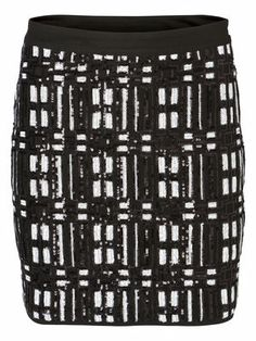 SIKA SEQUINS SHORT SKIRT VERO MODA Holiday Countdown contest. Pin to win the style!