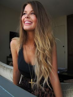 hair, ombre, makeup, cute, beautiful, hair color, haircut