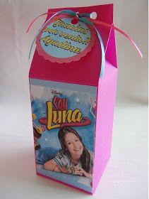 Preparamos ésta hermosa Deco Box de Soy Luna para el cumple de Agustina.                Incluía: topper para la torta, cajitas golosineras s...