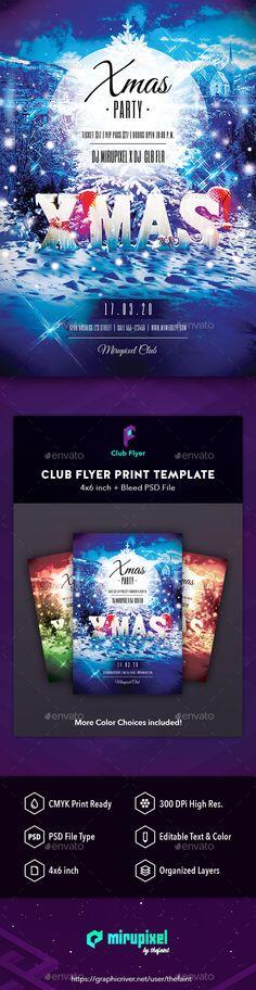 Club Flyer: Xmas