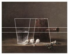 Jean Baptiste Simeon Chardin - The hidden geometry in 'Glass of Water and Coffee Pot' - http://hyperallergic.com/244140/the-existential-experience-of-a-chardin-still-life/?utm_medium=email&utm_campaign=The+First+Artwork+Made+in+Outer+Space&utm_content=The+First+Artwork+Made+in+Outer+Space+CID_35bf1cbbb118a2eb97119378faaec272&utm_source=HyperallergicNewsletter&utm_term=The%20Existential%20Experience%20of%20a%20Chardin%20Still%20Life