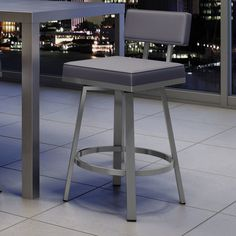 "Found it at AllModern - New York Style 26"" Swivel Bar Stool"