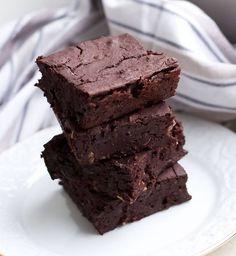 Vegane Brownies mit Kindeybohnen