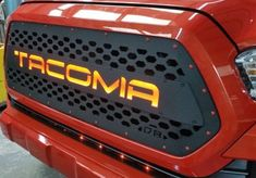 Custom grille from PureTacoma. Toyota accessories and more and an ever growing product line.