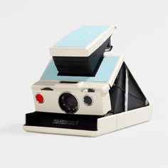 IMPOSSIBLE - cameras: Summer Sky Blue Model 2 SX-70 Camera Kit - White