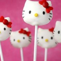 Here Kitty Cake Pop Recipe
