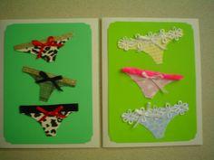 Panties greeting cards by Diana Gaisser