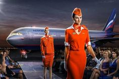 Russia - Aeroflot Cabin crew