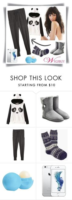 """Black Friday #8"" by amra-sarajlic ❤ liked on Polyvore featuring interior, interiors, interior design, home, home decor, interior decorating, UGG Australia, 27 Miles, J.Crew and Eos"