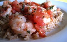 "Few items in the seafood case please the masses like shrimp. Even picky children will eat these mild-tasting and commonplace crustaceans—well, at least the breaded and deep-fried ""popcorn"" variety. But for a preparation that's a little bit healthier, and a lot more flavorful, try this recipe from Runner's World executive assistant, Kira Wright."