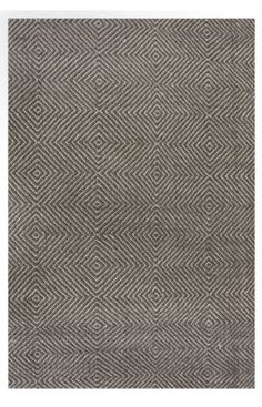 Rugs USA Sierra Paddle Rug Grey Rug: 80% Wool, 20% Cotton, Hand Woven, 65% Off