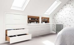 See a range of practical and stylish bedroom storage ideas to keep your bedroom clutter free