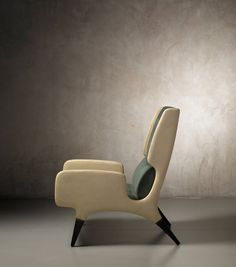 Armchair by Gio Ponti | From a unique collection of antique and modern armchairs at https://www.1stdibs.com/furniture/seating/armchairs/