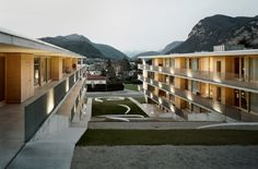 Casa dell'Accademia Mendrisio: Student accommodation in Switzerland