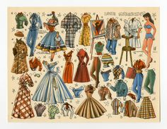 78.6396: Lone Malerklat | paper doll | Paper Dolls | Dolls | Online Collections | The Strong