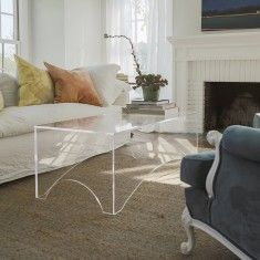Grace and Blake Arched Coffee Table