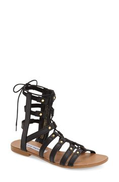 Steve Madden 'Sparra' Gladiator Sandal (Women)
