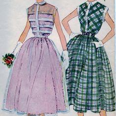 Simplicity Pattern 3252 Jr. Misses' & Misses' One-Piece Dress Sz. 12 B 30  #sharpharmade