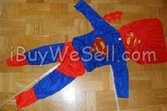 Maskerad,halloweendräkt Superman Nu Säljer jag en helt ny Stålmannendräkt i dess egen förpackning, köpt idag kvitto finns om du vill ha!  To check the price, click on the picture. For more products for children visit http://www.ibuywesell.com/en_SE/category/Children/607/.  #children #clothes #costume