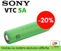 Sony VTC5A Batterie 18650 in offerta! clicca qui http://www.ecigsolution.it/home/1114-sony-vtc5-2600mah-30a.html