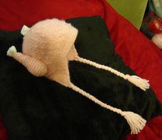 The Infamous Chicken Viking Hat - Now In Crochet! * Tutorial * - CROCHET