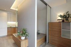 33 m² butas Vilniuje – maža erdvė, kurioje tilpo visos reikalingos zonos