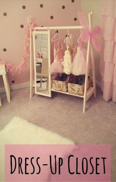 baby girl nursery room ideas 364369426101708084 - Dress Up Wardrobe Rack w/ Mirror Ivory Toddler's clothing Source by Baby Bedroom, Nursery Room, Girl Nursery, Girl Toddler Bedroom, Baby Girl Bedroom Ideas, Bedroom Kids, Nursery Ideas, Ballerina Nursery, Baby Girl Room Decor