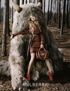 Mulberry Autumn Winter 2012 campaign, shot by Tim Walker #fashion #photography #fantasy // pinned by @welkerpatrick